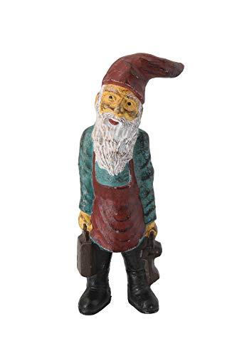Creative Co-Op Cast Iron Antique Reproduction Gnome