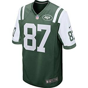 Nike New York Jets Eric Decker Green Game Jersey Men's Size Large