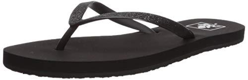 Reef Women's Stargazer Sandal,Black/Black,8 M US