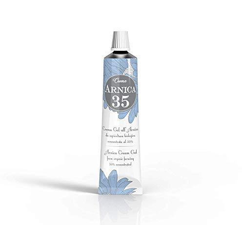 Arnica 35 - LA MÁS CONCENTRADA - BiPack 50 - Gel crema a base de árnica concentrada al 35% - ELIMINA HEMATOMAS - REDUCE HINCHAZÓN, DOLORES MUSCULARES Y ...