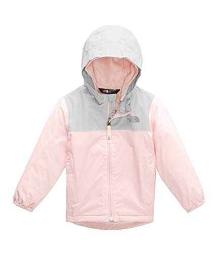 (The North Face Kids Baby Girl's Warm Storm Jacket (Toddler) Pink Salt 6T)