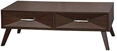 Amazon.com: Wood & Style Forsythe - Mesa de centro de 48 ...