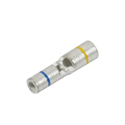 Non-Insulated Step Down Butt Connector, 16-14/12-10 Ga (10 Per Quantity)