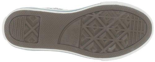 Converse Ctas Leopard Hi 291280-34-3 Unisex - Kinder Sneaker Weiß (Blanc/Bleu/Gris)