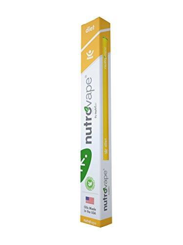 Nutrovape | World's 1st Diet Inhaler | Hunger Suppressant, Promotes Healthy Weight Loss | Diet Pill Alternative | All Natural Hoodia Gordonni, Garcinia Gambogia, Green Tea Extract (1)
