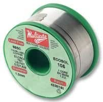 SOLDER WIRE, LEAD FREE, 0.5MM, 250G 96SC 502 5C 0.50MM By MULTICORE / LOCTITE