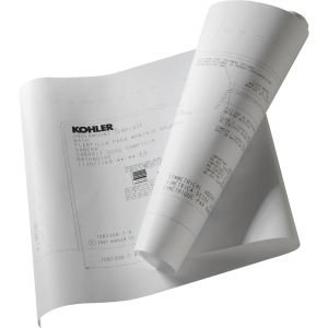KOHLER K-576-NA Sunward Undermount Install Kit for K-1162/K-1163