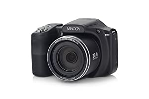 Minolta 20 Mega Pixels Wifi Digital Camera with 35x Optical Zoom & 1080p HD Video Optical with 3-Inch LCD