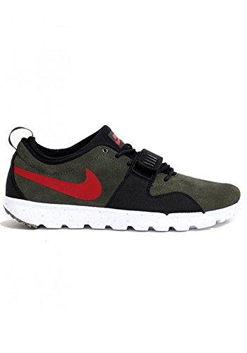 Nike Trainerendor Shoe - Men's Gym Red/White-GM Light Brown Seqoia, 9.0