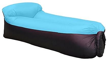 Waitiee Impermeable Camilla de sofá Hinchable con Almohada integrada (Hinchable, portátil Air Camas Dormir sofá sofá, para Viajar, Camping
