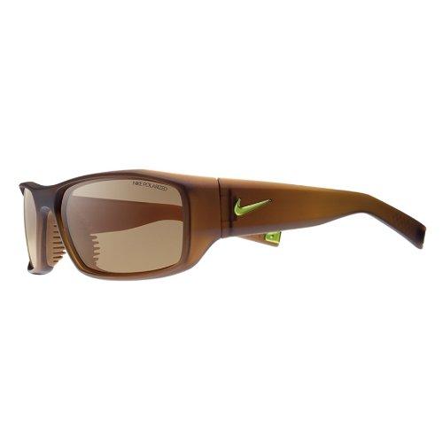 Gafas de sol Nike EV 0572 descarada 271 plástico marrón mate ...