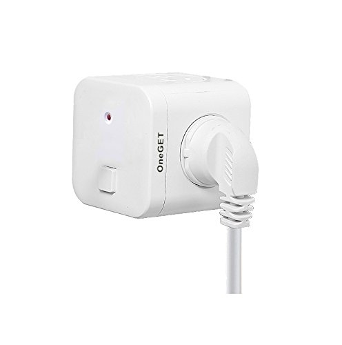 OneGET Type I 2in1 3/2 Pin for Australia China New Zealand Plug Travel Adaptor Adapter Grounded by OneGET