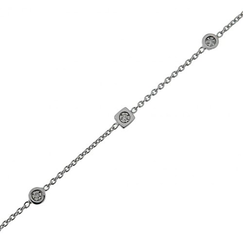 Bracelet Or 750 Diamant ref 42636