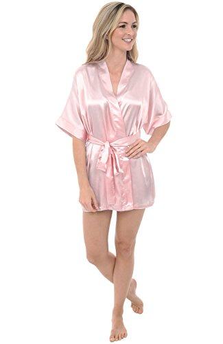 e5182b61ef Del Rossa Womens Satin Dressing
