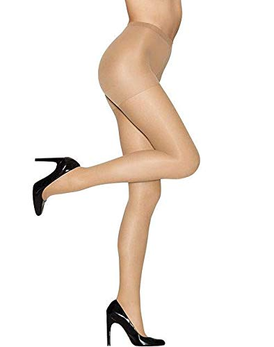 Hanes Womens Set of 3 Alive Full Support Control Top RT Pantyhose B, Little Color