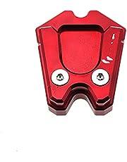 Voetkant stand Voor V&espa GTS GTV 3Vie Motorfiets Kickstand Uitbreiding Plaat Voet Side antislip Stand Cover Vergroten PadAccessoires Verlengstuk voor zijbeugel