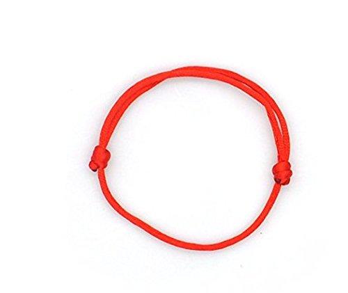Cafurty 1 Piece Kabbalah Red String Bracelets Evil Eye Jewelry Kabala Charm Fashion