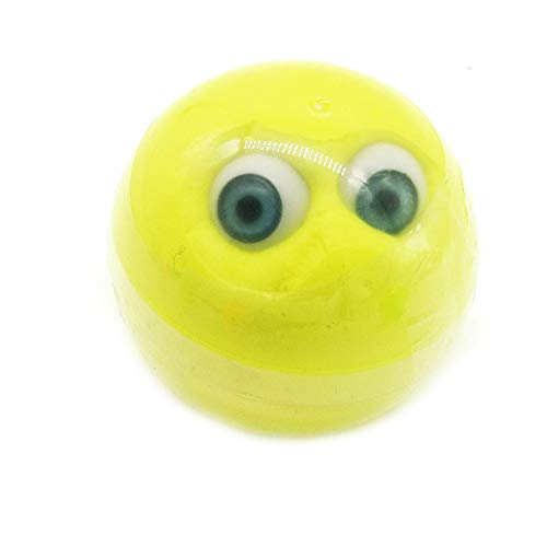VOWUA Slime Halloween Series Horrible Eyeball Fluffy Slime Putty Relieve Stress Kids Clay Toys