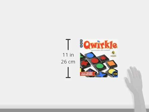 IELLO Qwirkle - Juego de Tablero (Madera, Multi): Amazon.es: Juguetes y juegos