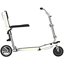 ATTO Scooter Folding Travel Full-Size Mobility Lithium Powered movinglife Technologie