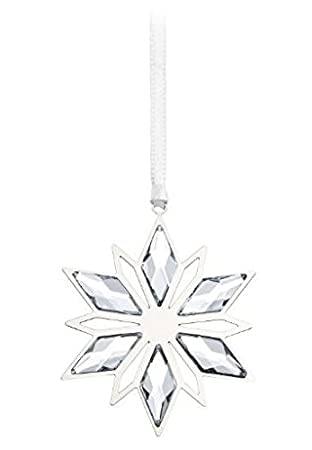 Swarovski Silver Star Christmas Ornament 2014 Amazoncouk