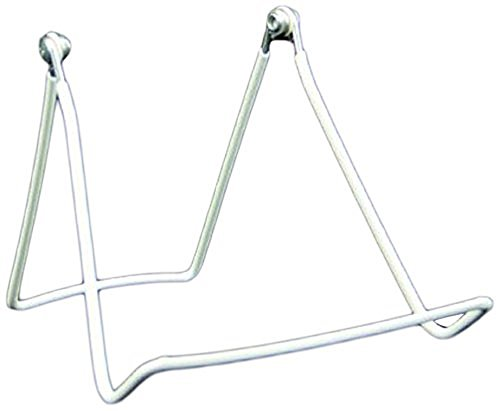 Gibson Holders 2AX 2-Wire Display Stand with Wide Base, Whit