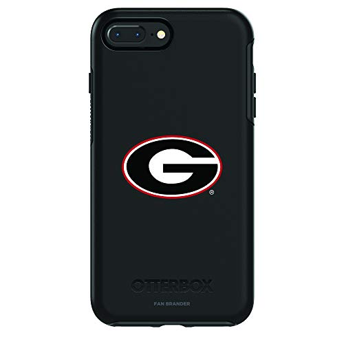 Fan Brander NCAA iPhone 8 Plus / 7 Plus Compatible OtterBox Symmetry Series Case (Georgia Bulldogs)