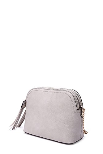 Crossbody Susan Style Grey Strategy Bag 6H4wAwxz