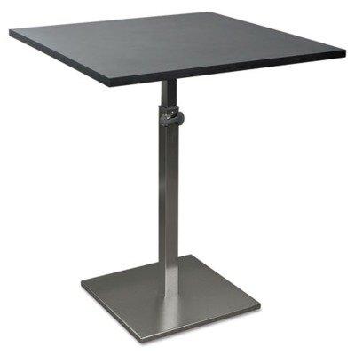 BALT quot;Height-Adjustable Bistro Table, 31-1/2w x 31-1/2d x 30 to 43-1/2h, Blackquot; Hardware Unit of measure: EA, Manufacturer Part Number: 90353
