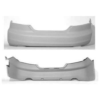Pre Painted Honda Accord (Coupe, 4 CYL Engine) Rear Bumper Painted to Match Vehicle
