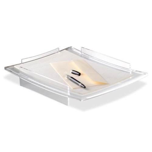 CEP Refined Acrylight Letter Tray - Acrylic Stacking Letter Tray