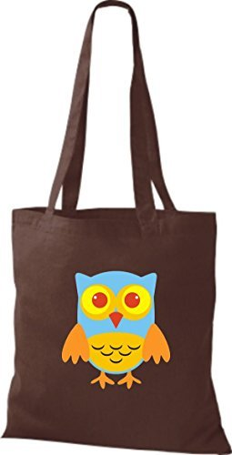 Shirtinstyle Brown Cotton For Women Bag Fabric Brown q4Czq