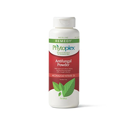 Medline Phytoplex Antifungal Powder - Four - 3 oz. Bottles