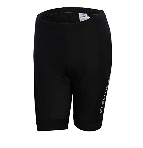 (Women's Breathable 6D Padded Classic Cycling Shorts)