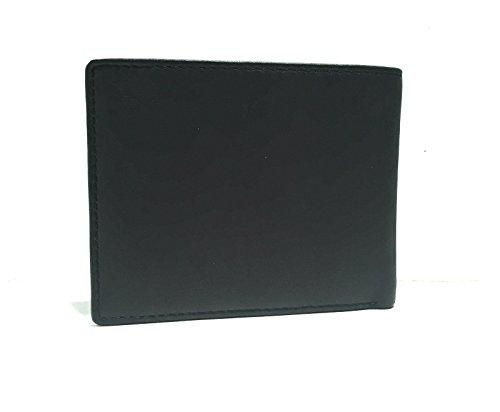BLACK 5dkk9303 stripe Portafogli A2 K wTBF0F