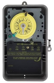 Intermatic T104P DPST Time Clock, 24 hour, 208V to 277V, ...