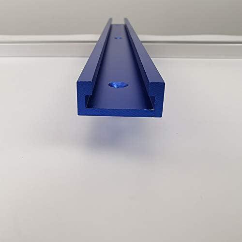 T-Schienen-Gehrungsvorrichtungs-Befestigungs-Schlitz-Aluminium,T-Schienen-Gehrungsvorrichtungs-Werkzeuge f/ür Holzbearbeitungs-Fr/äser 300-800MM 800MM Blau