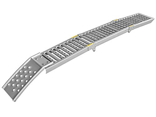 LAS 10607 Steel Loading Ramp Folding Single (Aluminium Motorrad)