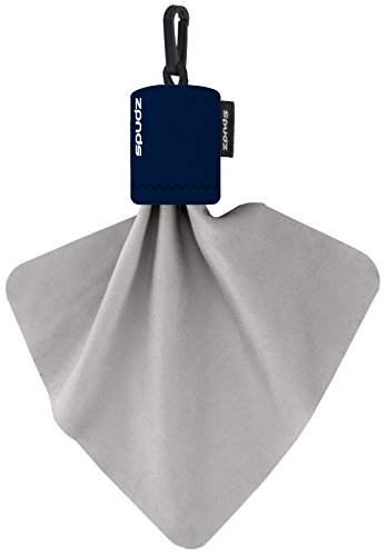 Alpine Innovations Spudz Classic Microfiber Cloth, Screen Cleaner and Lens Cleaner, Navy, Regular, 6 x 6 Inches