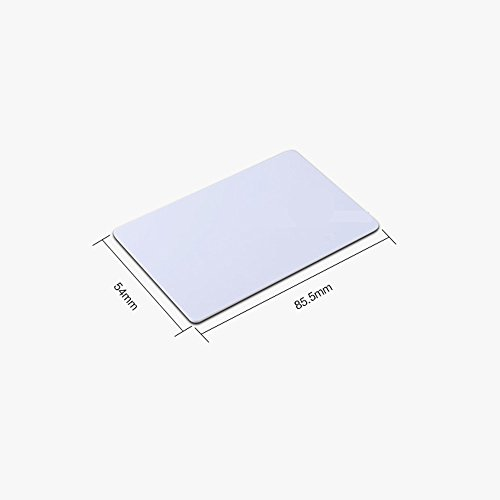 FONGWAH Ntag215 White PVC Blank Amiibo Cards 40x Cards+5X Stickers (TagMo Compatible) (45) by Fongwah