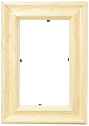 ArtToFrames 3x5 /  3  x  5 Picture Frame Clear Finish on Hard Maple ..  1'' wide (2WOM60823)