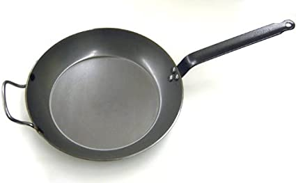 De Buyer Carbon Steel Frying Pan 12-1/2 Diameter FBA_5110.32