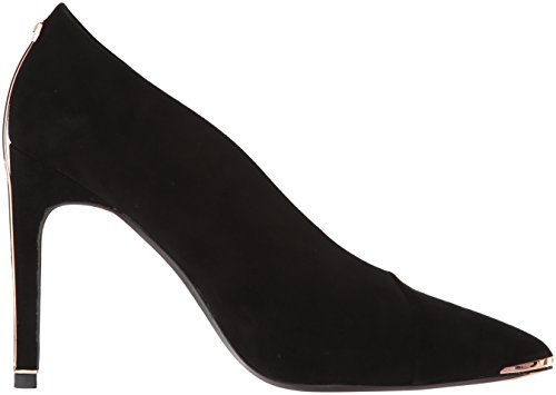 Women's Suede Bexz Ted Pump Black Baker 5OwBqqZ0