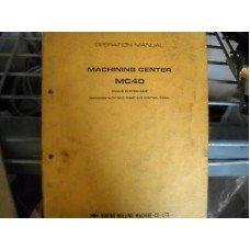 makino mc40 mc 40 cnc horizontal mill operation manual fanuc 6mb 6m rh amazon com G-Code Fanuc Manuals Fanuc Handling Tool Manual
