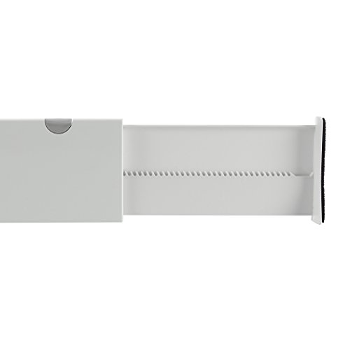 OXO Expandable Dresser Drawer Dividers 4-Inch, Pack of 2