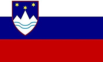 U24 Aufkleber Slowenien Flagge Fahne 8 X 5 Cm Autoaufkleber Sticker Auto