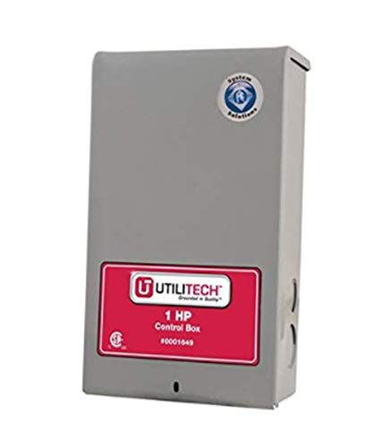 UtiliTech 1-HP 230-Volt Conrol Box Item # 1649 Model #UT305CB UPC# -