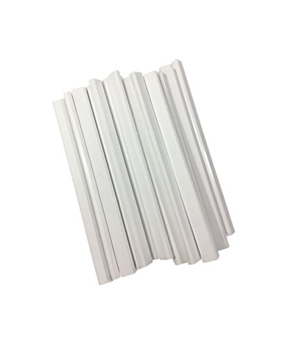 Wooden White Carpenter Pencils - 72 Count Bulk Box Made In The USA