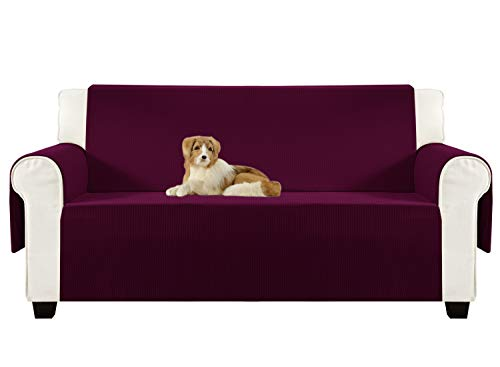 Aidear Anti-Slip Sofa Slipcovers Jacquard Fabric Pet Dog Cou