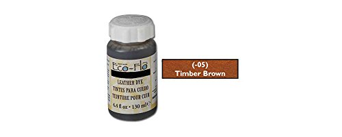 - Tandy Leather Eco-Flo Leather Dye 4.4 fl. oz. (132 ml) Timber Brown 2600-05